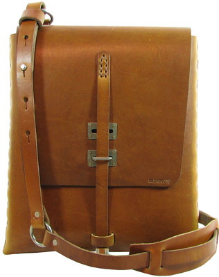 95C FRONT2 Billykirk No. 95 Shoulder Satchel