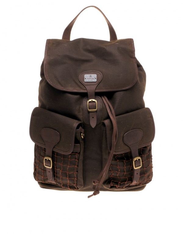 Barbour Beacon Waxed Cotton Rucksack 1 Barbour Beacon Waxed Cotton Rucksack