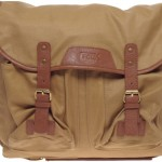 French Connection Waxed Canvas Fishing Bag 1