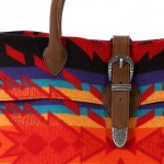 Pendleton Red Buckle Bag 4 150x150 Pendleton Red Buckle Bag