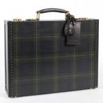Ralph Lauren Tartan Briefcase