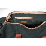 Tannis Hegan Green Canvas Duffle 7 150x150 Tannis Hegan Green Canvas Duffle