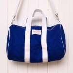 Wm. J. Mills & Co Shelter Island Duffel in Cobalt Blue 01