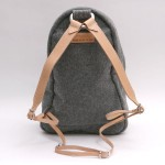 Yuketen Heather Grey Wool Ruck Sack 3 150x150 Yuketen Heather Grey Wool Ruck Sack