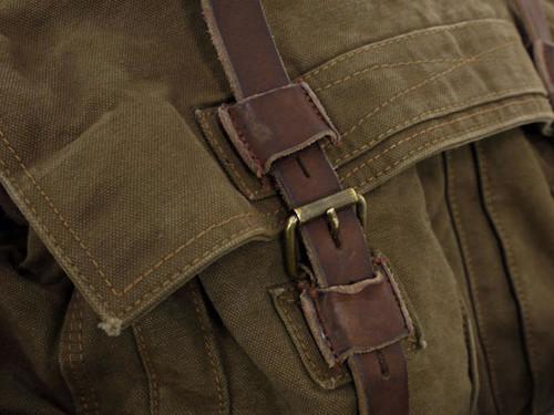 a89ca1e859 Belstaff Large Mountain Brown Canvas Shoulder Bag | The Carry
