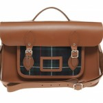 Cambridge Satchel Company Leather Tartan Satchel 01 150x150 Cambridge Satchel Company Leather & Tartan Satchel