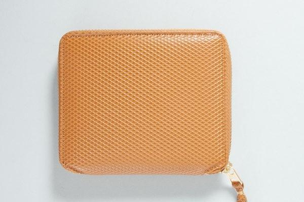 Comme des Garcons Beige Luxury Zip Wallet 1 Comme des Garcons Beige Luxury Zip Wallet
