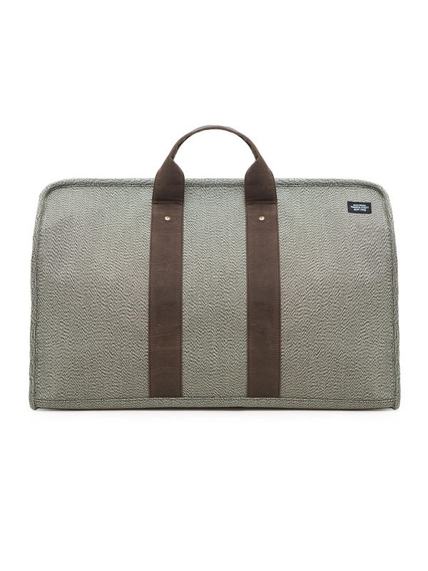 Jack Spade Flecked Military Canvas Mitchell Duffle 2 Jack Spade Flecked Military Canvas Mitchell Duffle