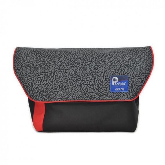 KIKS TYO Penfield Elephant Skin Messenger Bag 2 KIKS TYO & Penfield Elephant Skin Messenger Bag