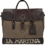 La Martina Canvas & Leather Holdall 1