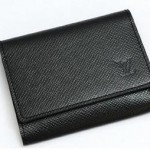 Louis Vuitton Taiga Leather Business Card Holder