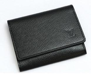 Louis Vuitton Taiga Leather Business Card Holder Louis Vuitton Taiga Leather Business Card Holder