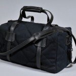 Naked & Famous Black Canvas Duffle