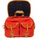 Nigel Cabourn Orange Army Satchel 04 150x150 Nigel Cabourn Orange Army Satchel