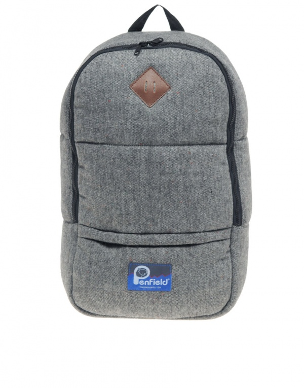 Penfield Quincy Tweed Padded Backpack 1 Penfield Quincy Tweed Padded Backpack