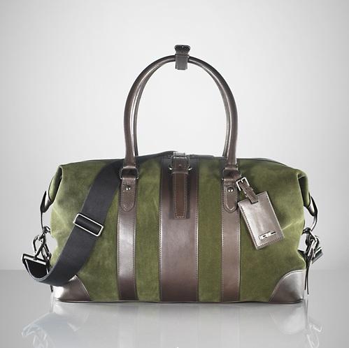 Ralph Lauren Suede Duffle Bag 01 Ralph Lauren Suede Duffle Bag
