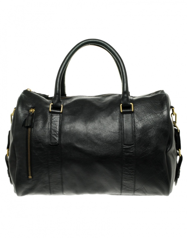 Reiss Grosvenor Leather Holdall 1 Reiss Grosvenor Leather Holdall