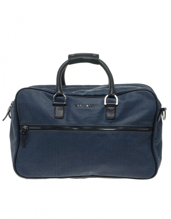 Ted Baker Coated Canvas Overnight Bag Ted Baker Coated Canvas Overnight Bag