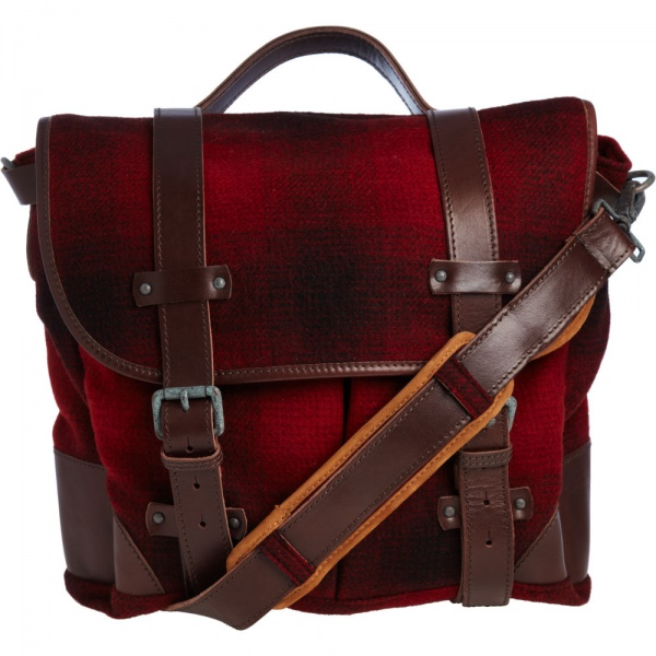 Woolrich John Rich Sons Plaid Saddle Bag 1 Woolrich John Rich & Sons Plaid Saddle Bag