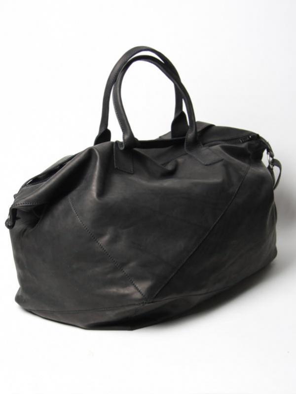 Damir Doma Leather Weekender Polygon Bag Damir Doma Leather Weekender Polygon Bag