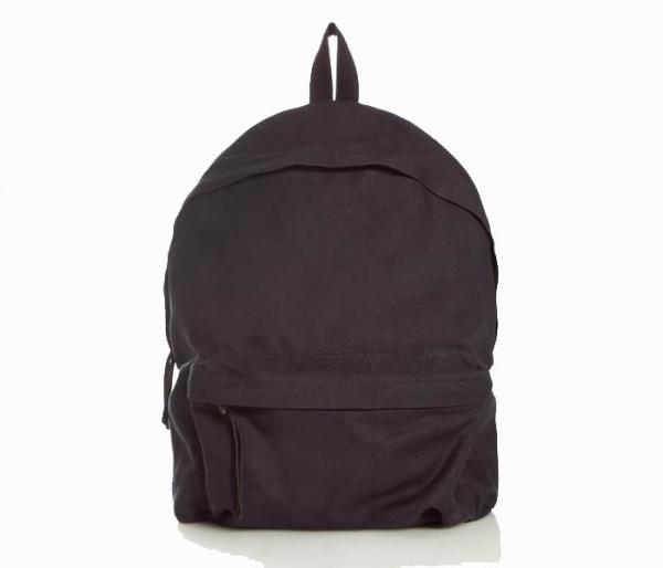Patrik Ervell Navy Cotton Canvas Backpack 01 Patrik Ervell Navy Cotton Canvas Backpack