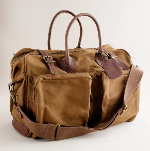 Picture 11 J. Crew Rugged Twill Weekender