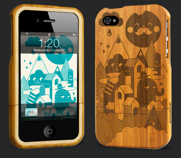 Picture 15 Grove Bamboo Artist Series iPhone Case