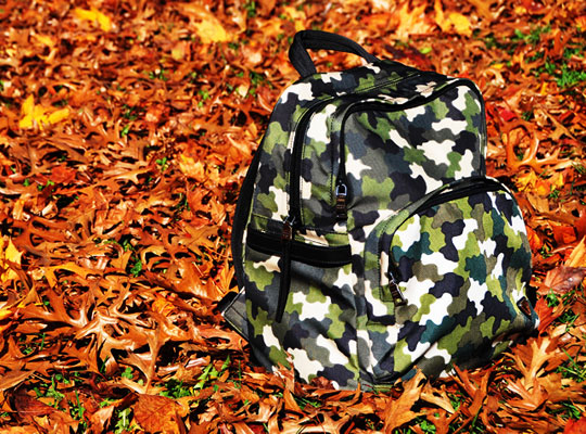 Prada Camouflage Backpack  Prada Camouflage Backpack