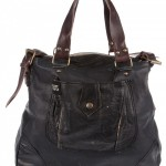 Silent People Leather Bag