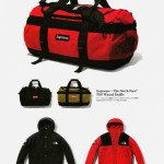 Supreme & The North Face Waxed Duffle