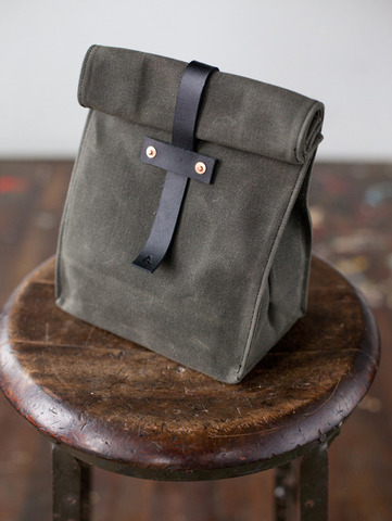 Artifact Bag Co. No. 215 Lunch Bag Artifact Bag Co. No. 215 Lunch Bag