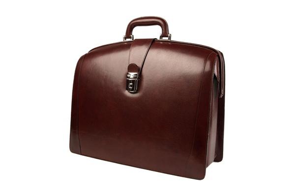 Bosca Triple Compartment Leather Briefcase 1 Bosca Triple Compartment Leather Briefcase