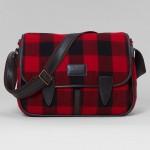 Buffalo Check Messenger Bag by Brooks Brothers 1