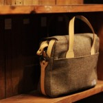 Harris Tweed Messenger Bag by Pherrow's 1
