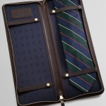 Leather Tie Case by Brooks Brothers 2