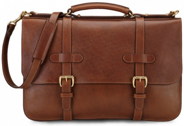 Lotuff and Clegg English Leather Briefcase Lotuff and Clegg English Leather Briefcase