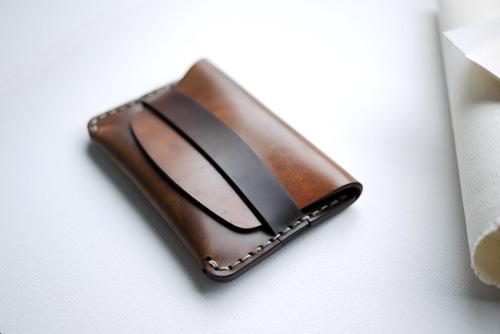 Makr Flap Slim Cordovan Wallet Makr Flap Slim Cordovan Wallet