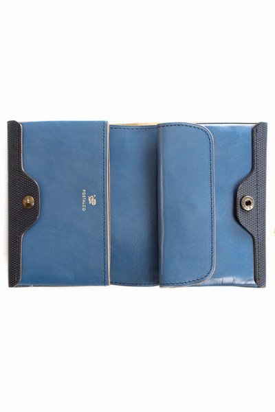 Postalco Cross Grain Leather Card Coin Wallet 2 Postalco Cross Grain Leather Card & Coin Wallet