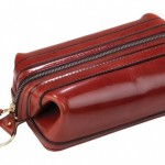 Bosca Leather Toiletry Kit 1