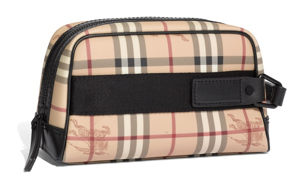Burberry Check Print Dopp Kit Burberry Check Print Dopp Kit