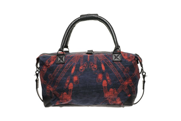 James Long All Over Print Holdall 01 James Long All Over Print Holdall