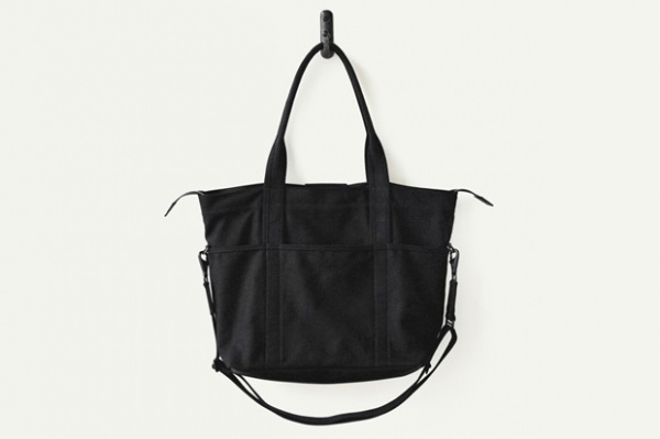 Makr Black Canvas Utility Bag Makr Black Canvas Utility Bag
