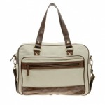 River Island Canvas Bowling Bag 1