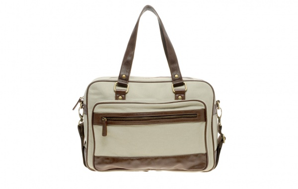 River Island Canvas Bowling Bag 1 River Island Canvas Bowling Bag