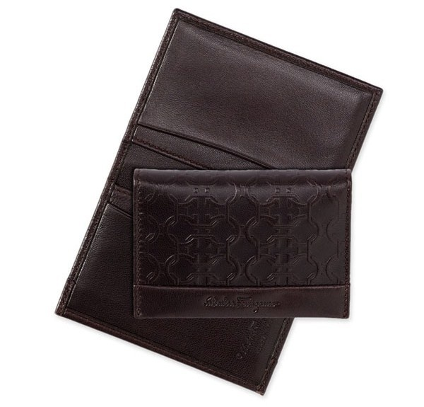 Salvatore Ferragamo Gancini Embossed Card Case Salvatore Ferragamo Gancini Embossed Card Case