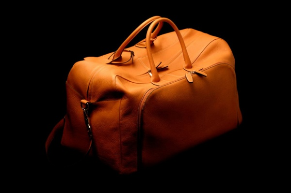 peter johnston leather holdall Peter Johnston Leather Holdall