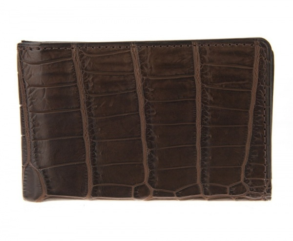 ACCESSOIRES DE BONNE COMPAGNIE Accessoires de Bonne Compagnie Crocodile Skin Card Holder