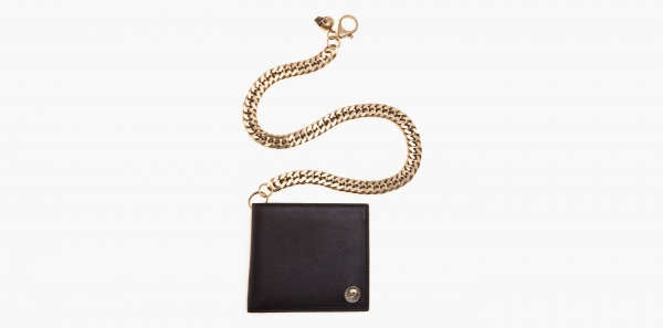 Alexander McQueen Embossed Coin Chain Wallet Alexander McQueen Embossed Coin Chain Wallet