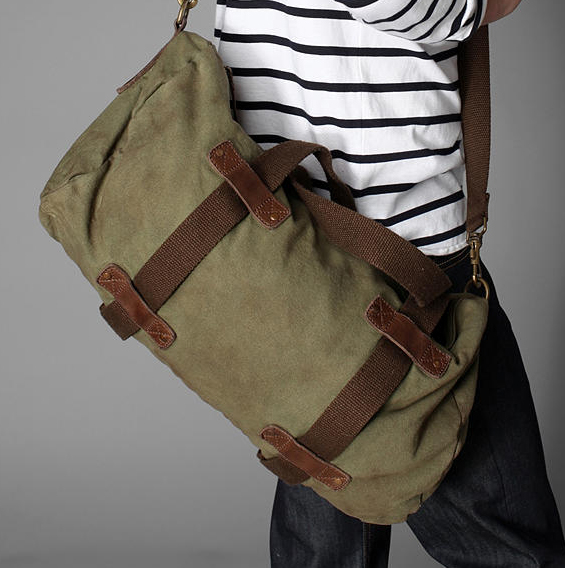 Alternative Apparel canvas Duffel Alternative Apparel Safari Duffel Bag