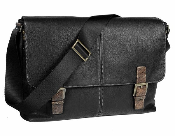 Boconi Double Buckle Messenger Bag Boconi Double Buckle Messenger Bag